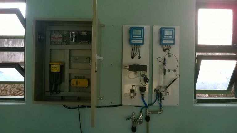 Cung cấp, lắp đặt thiết bị đo độ đục, Clor dư, pH cho Cty Cấp Nước Sơn La