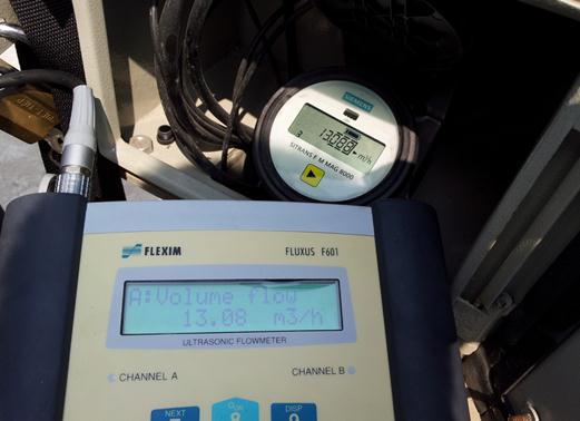 Cung cấp thiết bị đo lưu lượng siêu âm Clamp-on xách tay cho Công ty CP Cấp Nước Nhà Bè