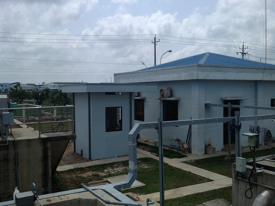Lắp đặt trạm quan trắc nước thải tự động tại KCN Trảng Bàng tỉnh Tây Ninh