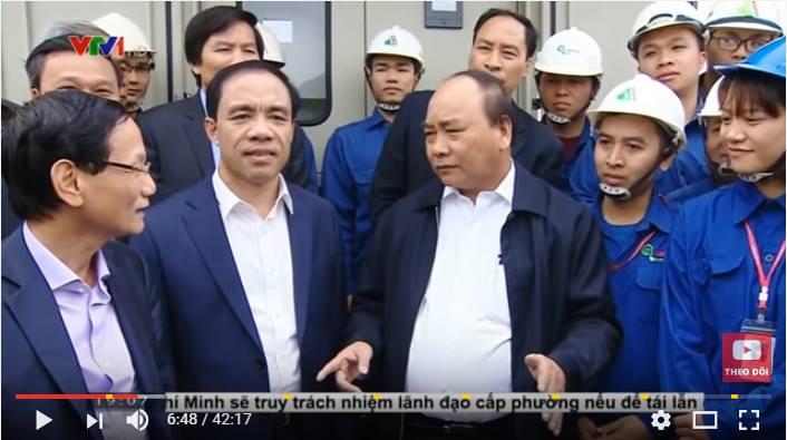 TQT do Việt An lắp đặt lên sóng thời sự VTV