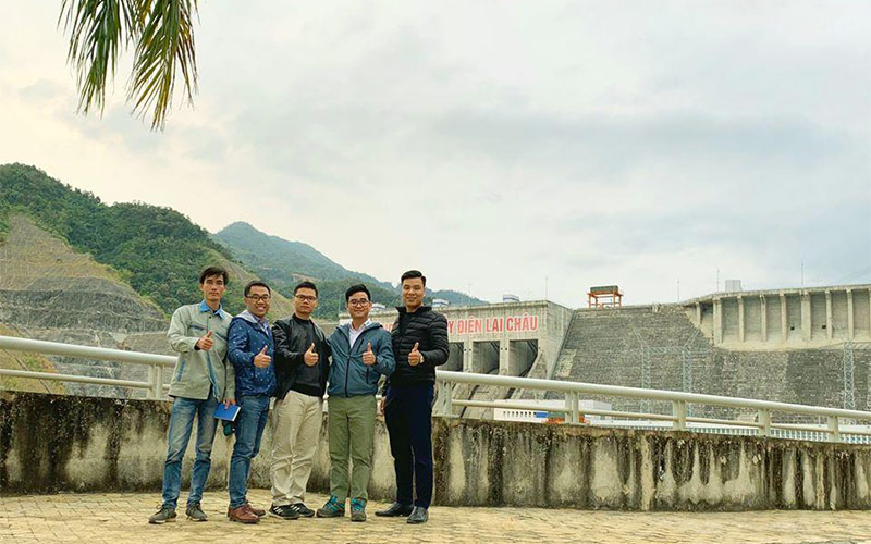 Automatic waste water monitoring project – Lai Chau hydropower plant